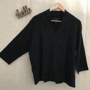 Rafaella - Plus Size 3/4 Sleeve Shirt